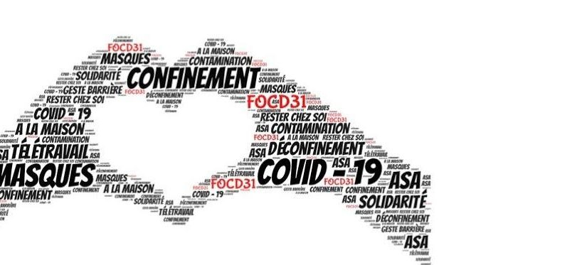 Questionnaire : Conditions de travail pendant votre confinement & modalités de reprise